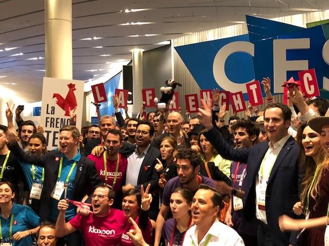 Crédit image INPI : la French Tech présente au CES Las Vegas