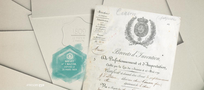 Brevet n° 1BA2158, déposé le 28 mars 1809 /Brevet n° 1BA2527, déposé le 28 septembre 1827 / Crédit Image : AGENCE SECRÈTE