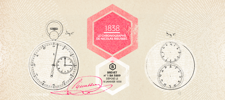 Brevet n° 1 BA 5889, déposé le 16 janvier 1838 / Crédit image : AGENCE SECRÈTE