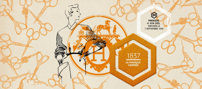 Marque n° 414 203, déposée le 7 septembre 1945 / Crédit image : AGENCE SECRÈTE