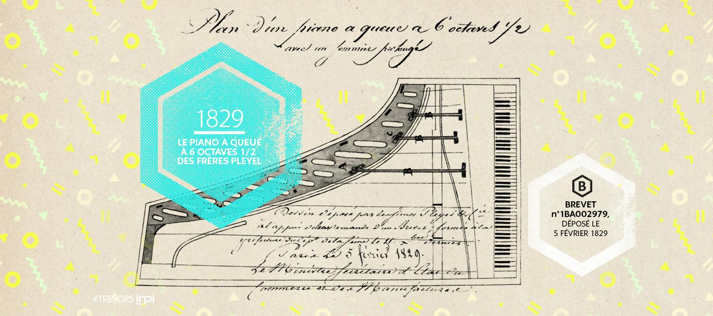 Brevet n° 1 BA 11 952, déposé le 22 février 1844 / Crédit Image : AGENCE SECRÈTE