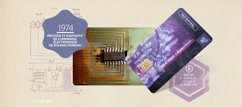 Brevet du procédé et dispositif de commande électronique n°FR7410191, déposé le 25 mars 1974 / Crédit Image : AGENCE SECRÈTE