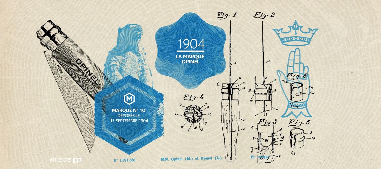 Marque n°10 déposée le 17 septembre 1904