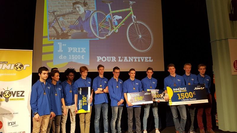 INPI_Participants et lauréats du concours Sciences & Vie junior -