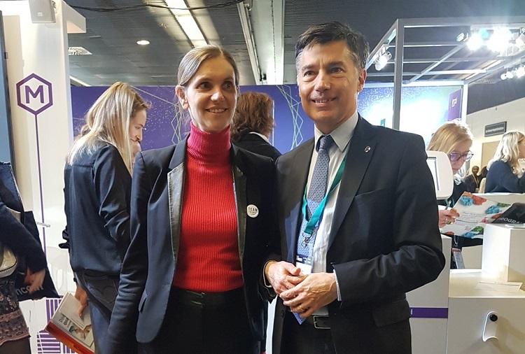 Crédit image INPI : Agnès Pannier-Runacher, secrétaire d'Etat auprès du ministre de l'Economie et des Finances échange avec Pascal Faure sur l'innovation et la Propriété Industrielle
