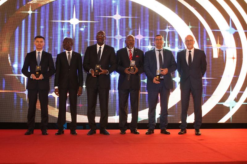 Crédit image INPI : cérémonie des 2è Awards de la marque organisés par l'Office Africain de la Propriété Intellectuelle à Abidjan