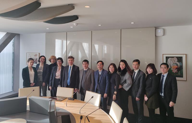 Crédit image INPI/Acceuil d'une délégation vietnamienne à l'INPI le 12 février 2020